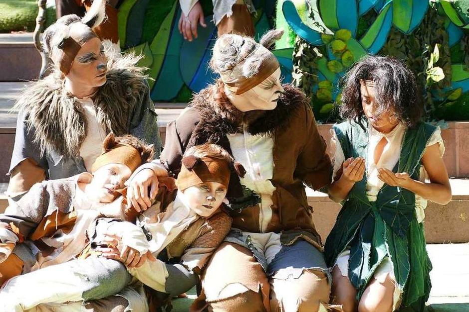 Mowgli verlässt die Wölfe. (Foto: Frank Kreutner)