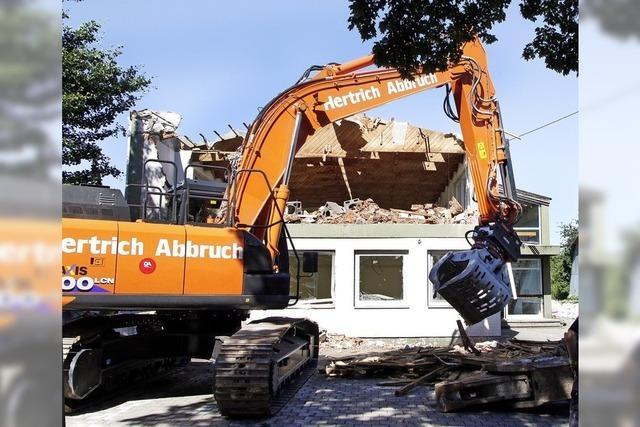 Evangelisches Gemeindehaus in Altenheim wird abgerissen