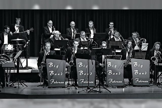 Big Band trifft auf Blasmusik