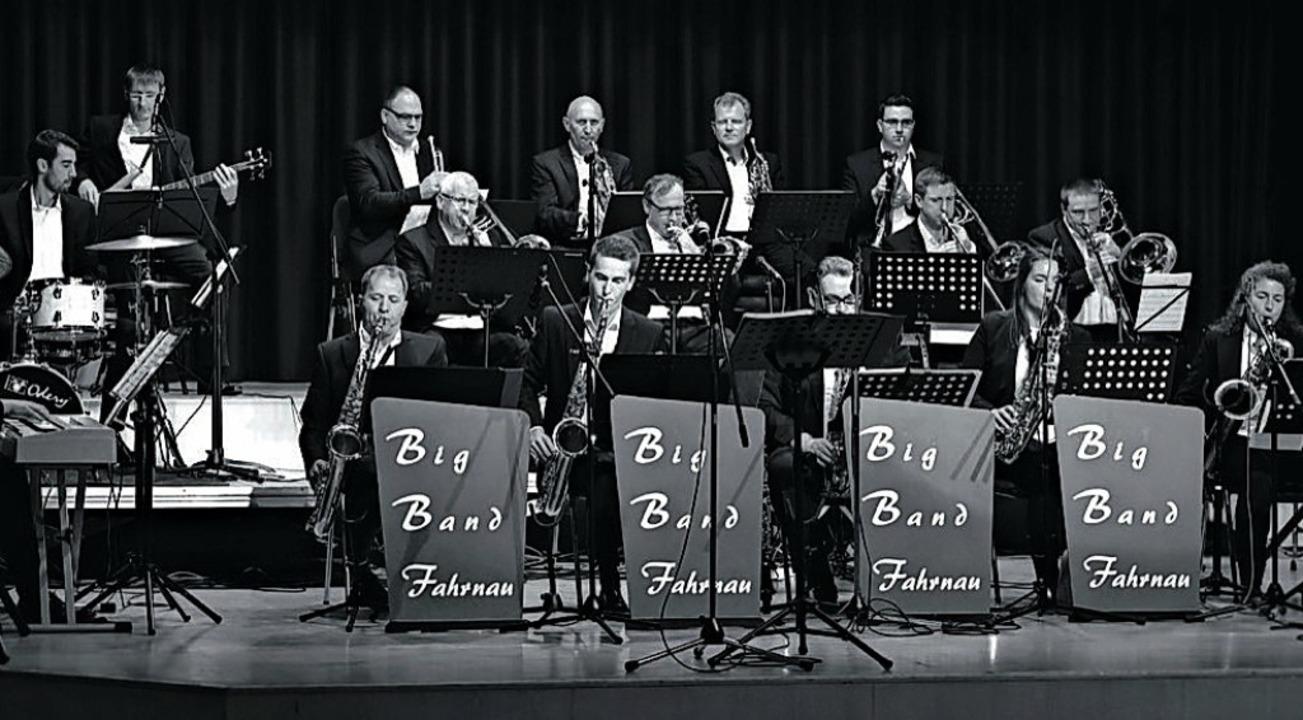 Die Big Band Fahrnau  | Foto: BigBand Fahrnau