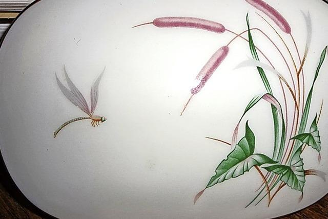 Pracht der Natur auf Glas, Stoff und Porzellan