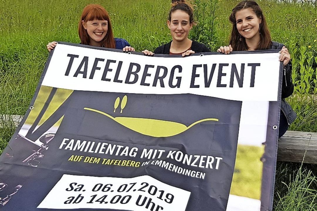 Sie organisieren die Veranstaltung Taf...oiosi und Alina Kaldewey (von links).   | Foto: Gerhard Walser
