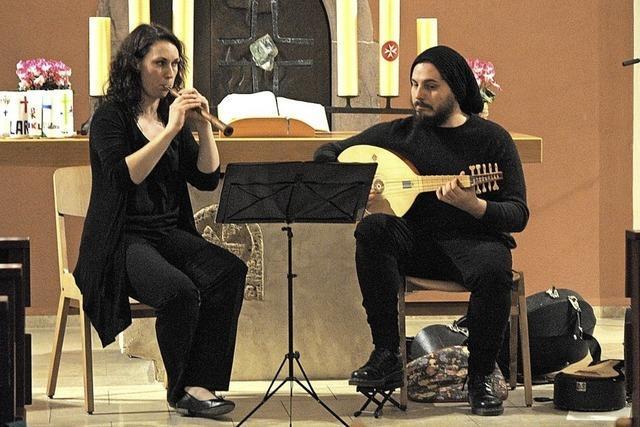 Mittelalterliche Musik in der Kirche