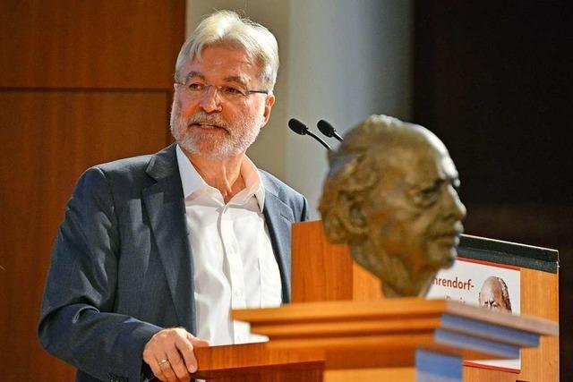 BZ-Herausgeber Thomas Hauser: