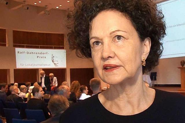 Lady Dahrendorf wünscht sich Journalisten mit Mut und Ausdauer