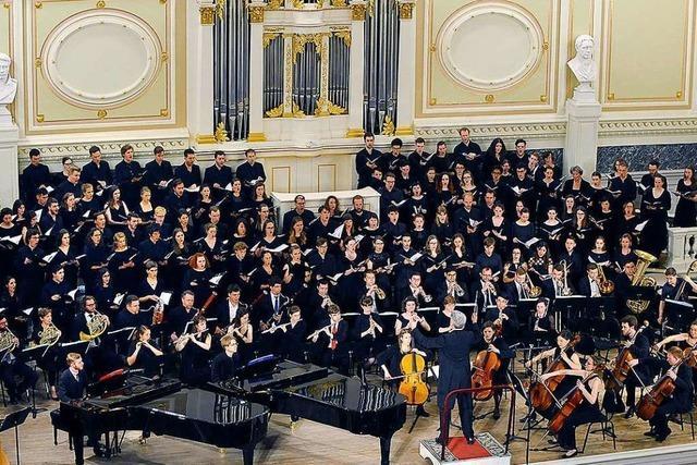 Ende Juni tritt ein Chor aus Sankt Petersburg in Freiburg auf