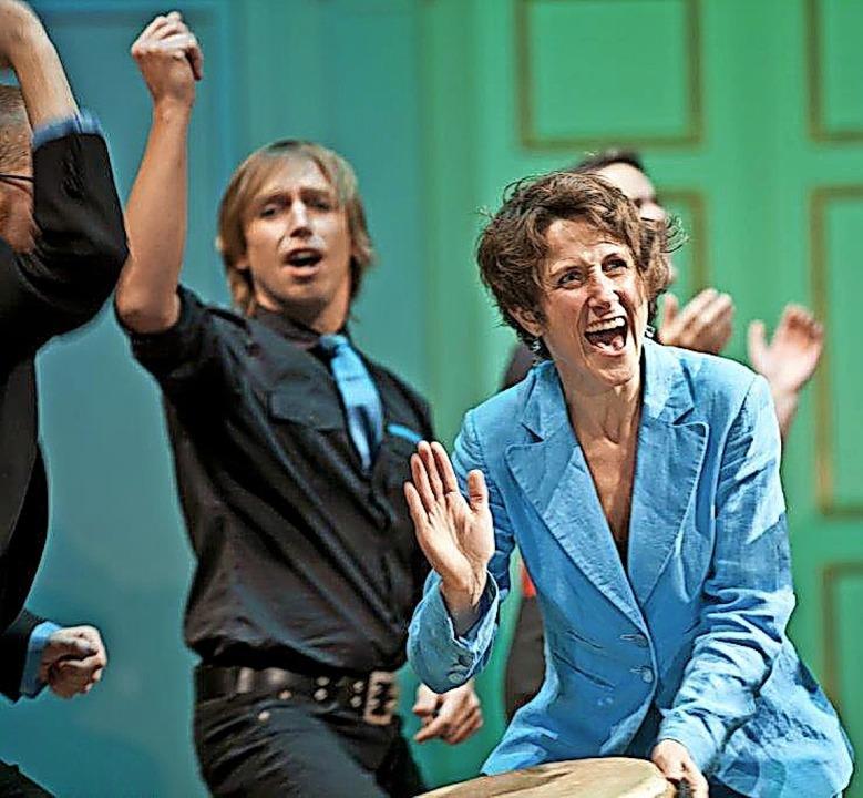 Der Chor Vo No ist unter anderem bekan...weilen auch mit Publikumsbeteiligung.   | Foto: Ulrika Malm
