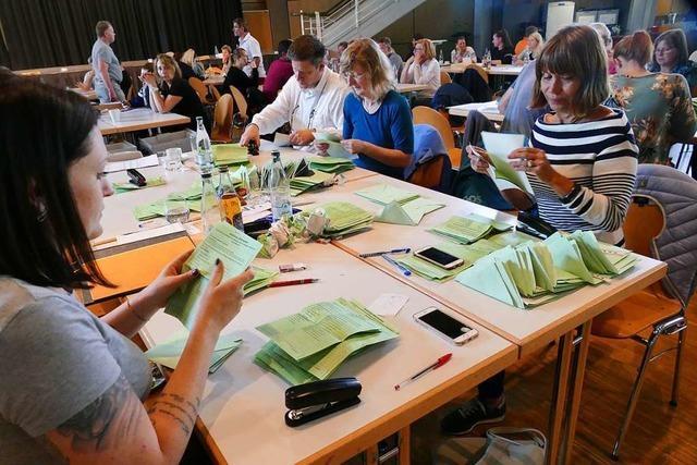 Das Ergebnis der Lörracher Kreistagswahl ist jetzt endgültig