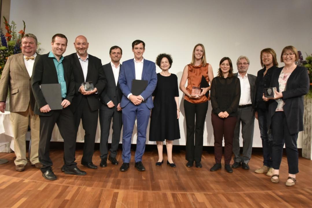 Stehen für Qualität im Journalismus:  ...ser,  Inge Jacobs und Renate Allgäuer.  | Foto: Michael Bamberger