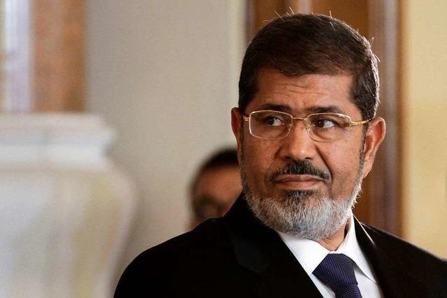 Ägyptens Ex-Staatschef Mohammed Mursi tot