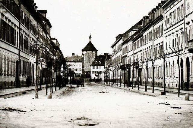 Vor 200 Jahren begann Architekt Christoph Arnold, den Ausbau Freiburgs zu planen