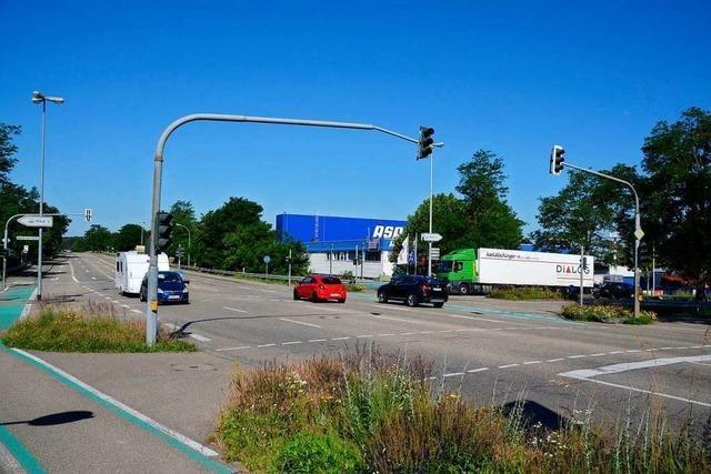 Die Arbeiten auf der Otto-Hahn-Straße beginnen am Montag