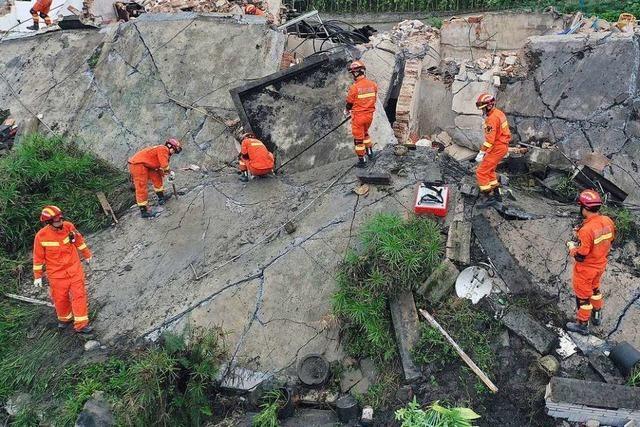 Erdbeben der Stärke 6,0 in China fordert Menschenleben