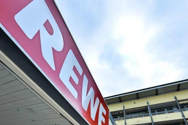 Seit Samstag hat der Rewe in Weingarten bereits geschlossen