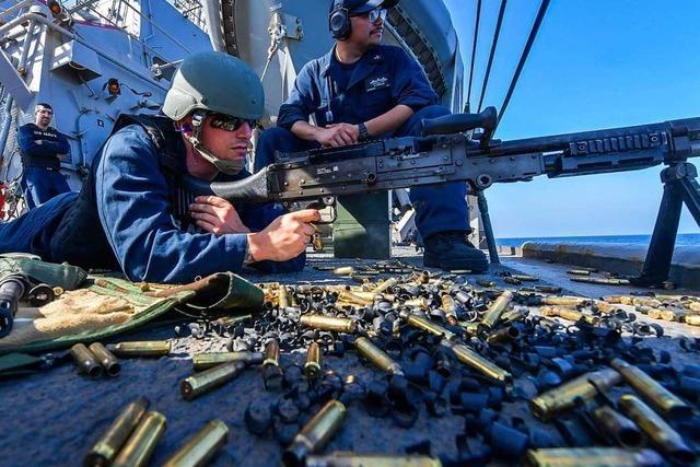 USA schicken weitere rund 1000 Soldaten in die Nahost-Region