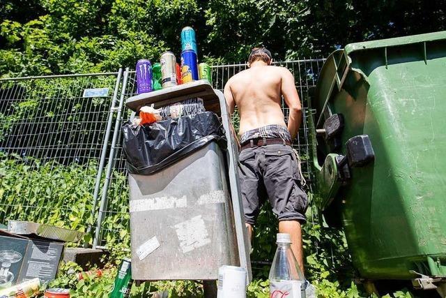 Wie Freiburger Festival-Veranstalter das Müllproblem bewältigen wollen