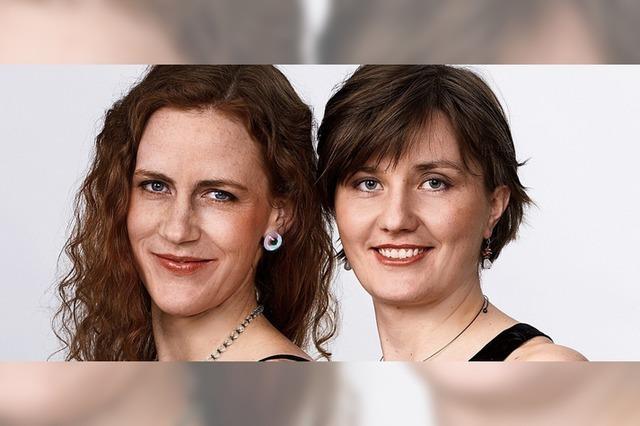 Das Pelion-Duo Trude Mészár (Cello) und Henrike von Heimburg (Klavier) in Sulzburg-Laufen