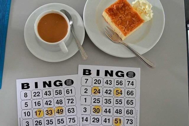 In Rheinfelden gibt's zum Bingo-Fieber Kaffee und Bienenstich
