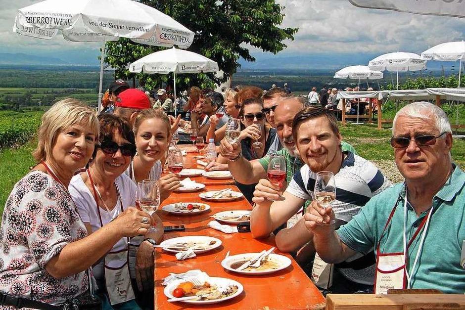 Impressionen von der Weinwanderung (Foto: Herbert Trogus)