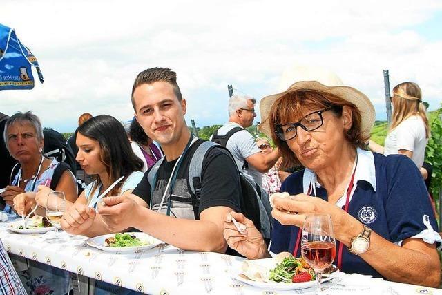 17. Kulinarische Weinwanderung in Oberrotweil: Genusstour bei Kaiserwetter