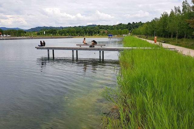 Der Seepark wird als Naherholungsgebiet angenommen
