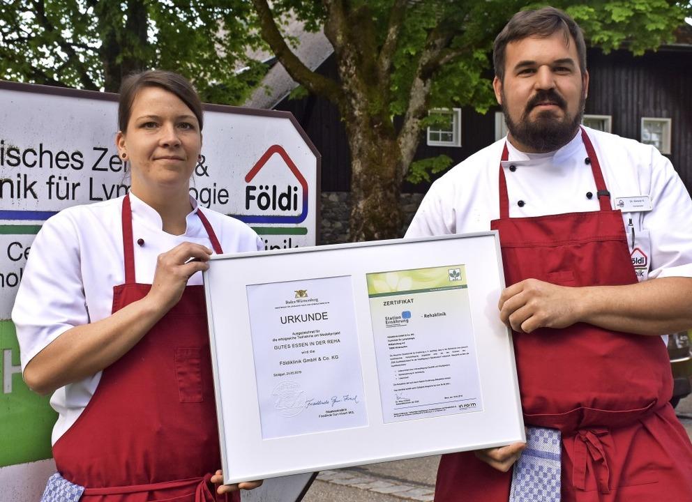 Küchenchef Christoph Ketterer-Sohnrey ...hen Ministeriums für Ländlichen Raum.   | Foto: Thomas Biniossek