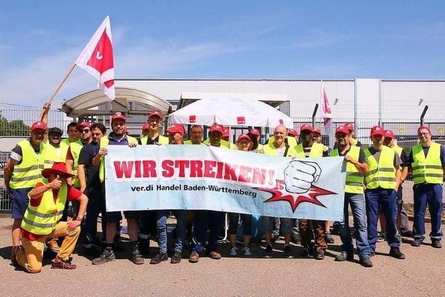 120 Mitarbeiter von Edeka Südwest im Warnstreik
