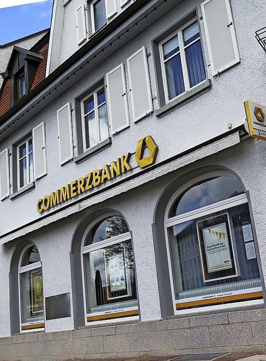 Die Commerzbank  | Foto:  Ernst Zimmermann
