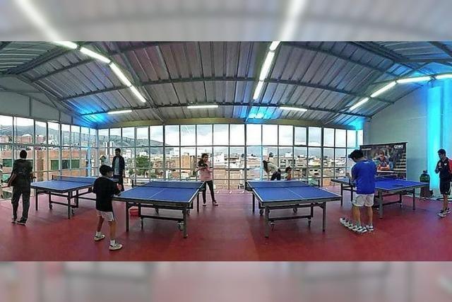 Tischtenniszentrum eröffnet
