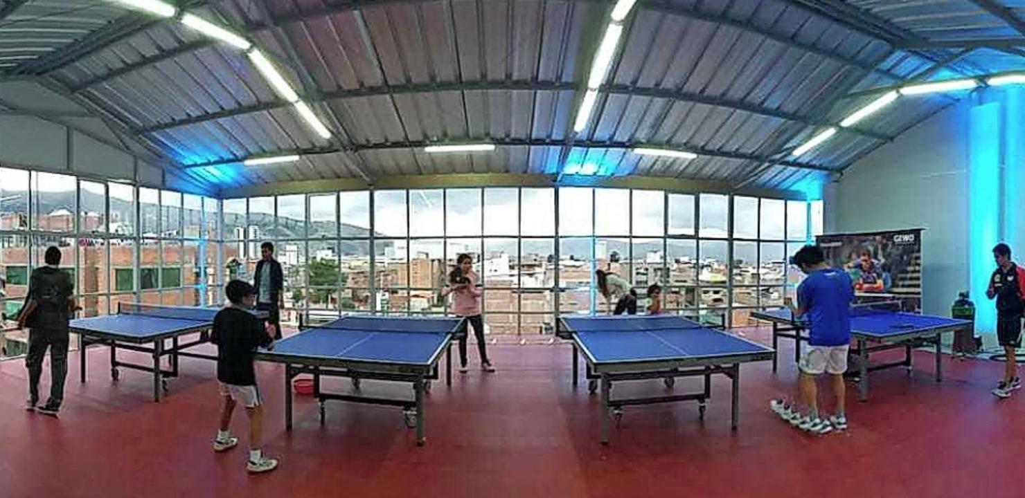 Das Trainingszentrum in Peru bietet einen beeindruckenden Ausblick.   | Foto: Wannagat