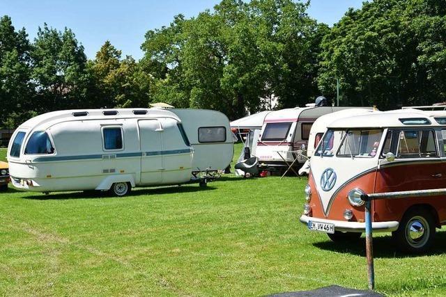 Camping-Oldtimer aus ganz Deutschland kommen nach Denzlingen