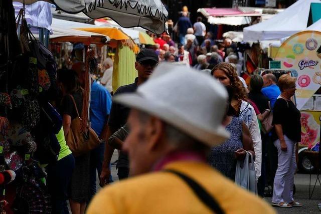 Der Johannimarkt in Grenzach-Wyhlen ist eine feste Größe im Kalender