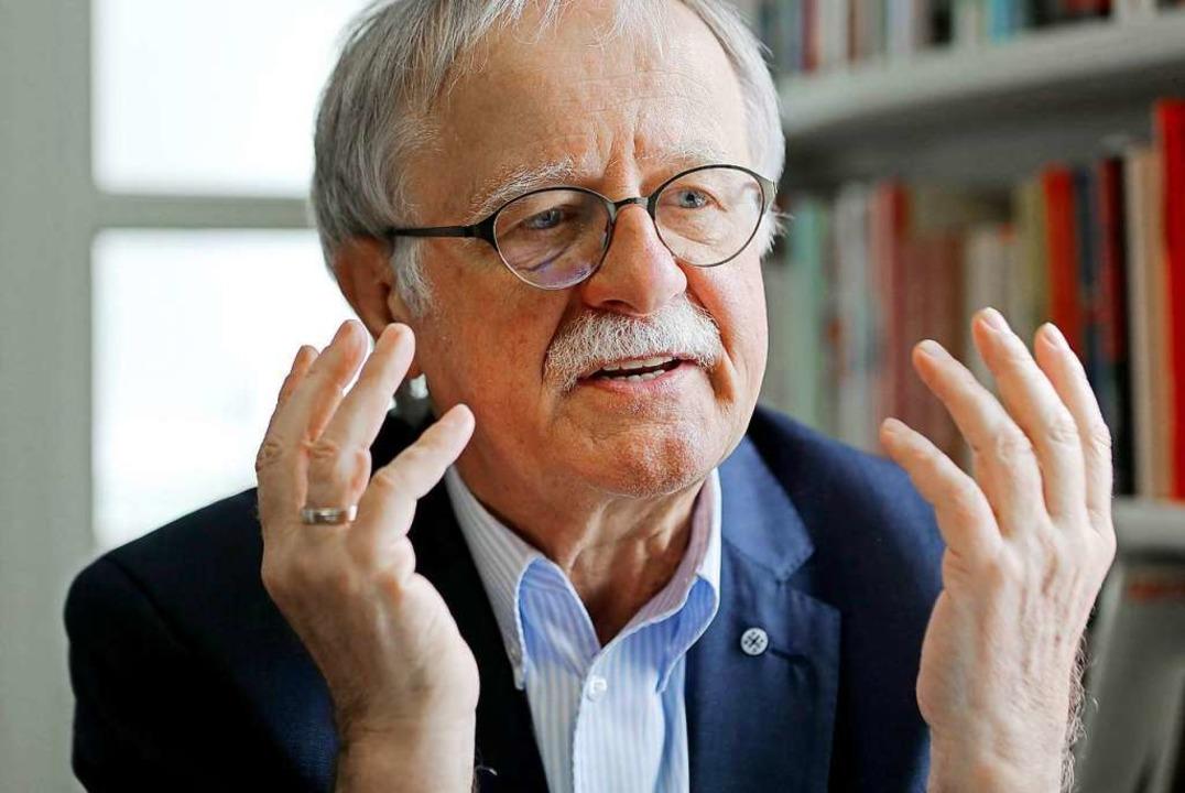 Hans Leyendecker, früher Journalist bei der Süddeutschen Zeitung  | Foto: Oliver Berg (dpa)