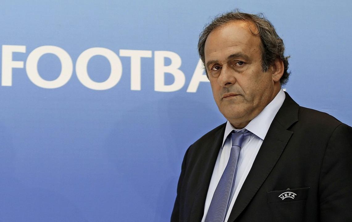 In Gewahrsam genommen: Ex-Uefa-Chef Michel Platini    Foto: VALERY HACHE (AFP)