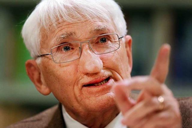 Für Jürgen Habermas ist das Gespräch die Quelle der Einsicht
