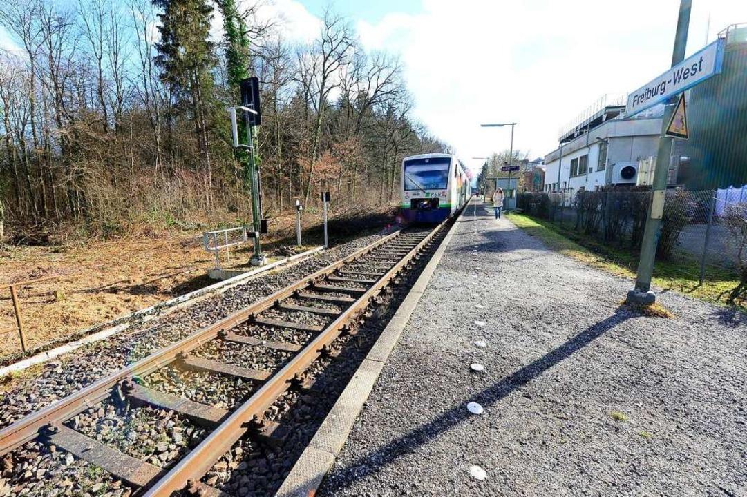 Die Breisgau-S-Bahn von Freiburg in Ri...ten wird mit großem Aufwand ausgebaut.  | Foto: Ingo Schneider