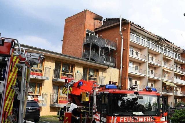 21 Verletzte bei Brand in Bremer Pflegeheim – hoher Millionenschaden vermutet
