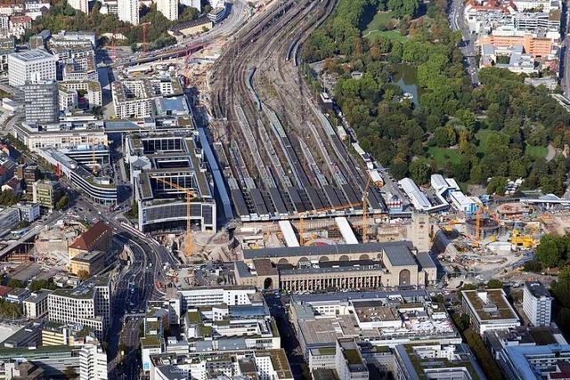 Stuttgart 21 ist noch nicht fertig, aber schon zu klein