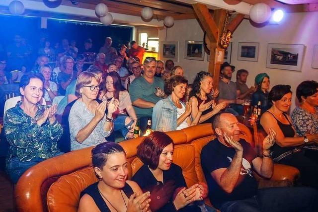 Die Open Stage Night in Münchweier ist ein Publikumsmagnet
