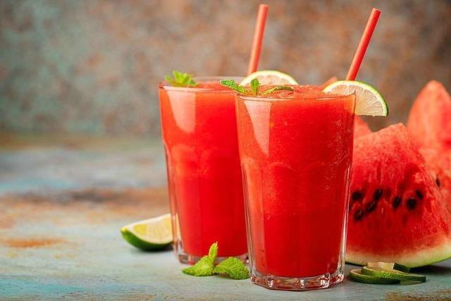 Mit diesen drei Drinks kommen Sie erfrischt durch den Sommer