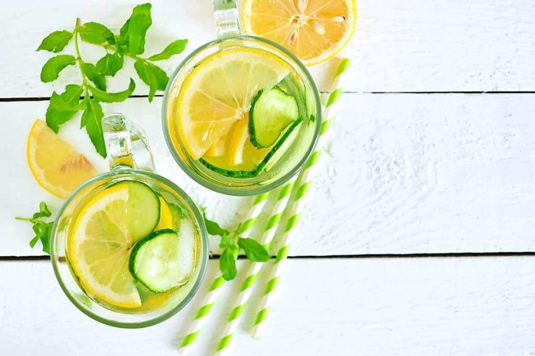 Zitronen-Gurken-Sangria  | Foto: zefirchik06 (stock.adobe.com)