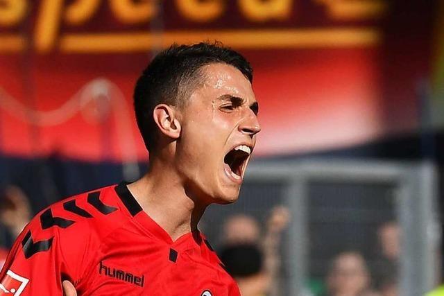 Mittelfeldspieler Vincent Sierro wechselt vom SC Freiburg nach Bern