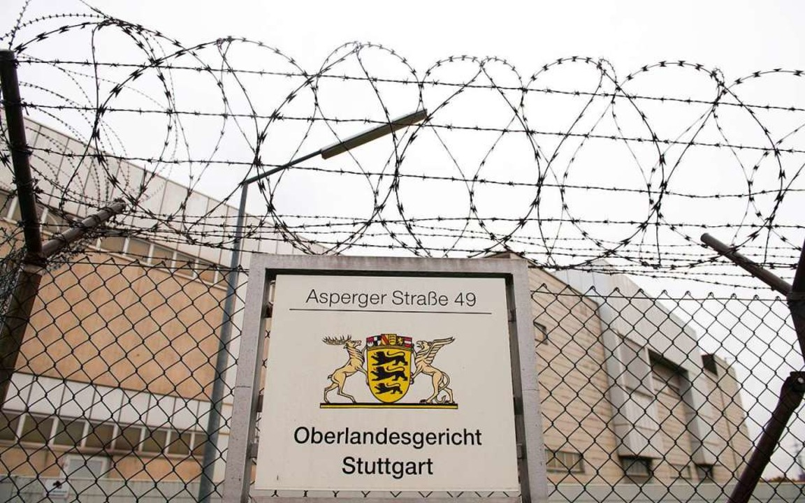 Am Oberlandesgericht in Stuttgart soll...n Kriegsverbrechers verhandelt werden.  | Foto: Sebastian Kahnert