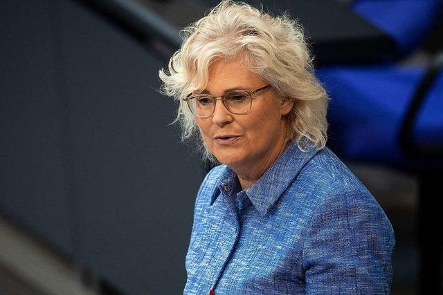 SPD-Politikerin Christine Lambrecht wird neue Justizministerin