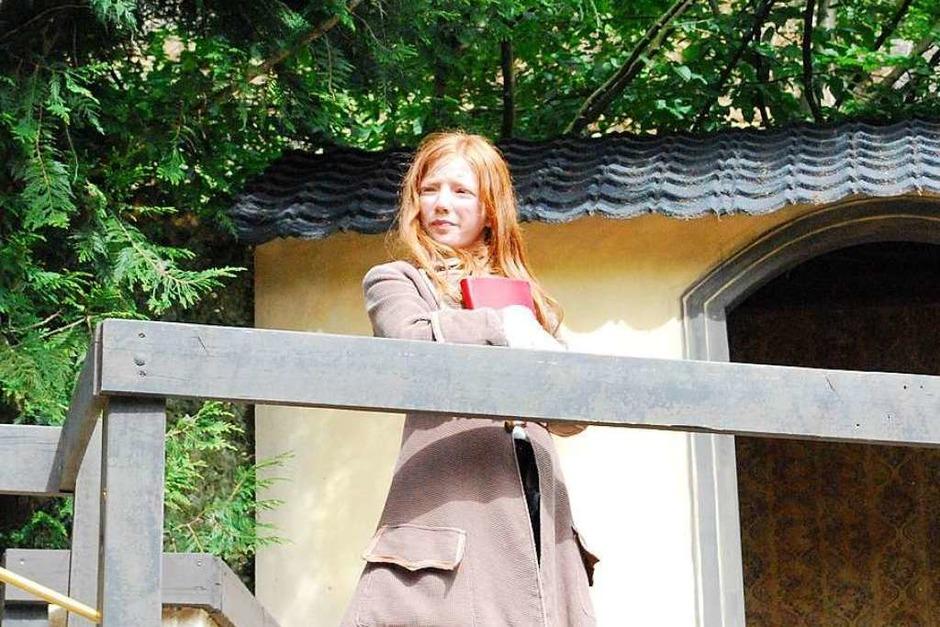 Alle müssen wachsam sein: Hier der Minister (Filiz Geiger) (Foto: Sylvia-Karina Jahn)