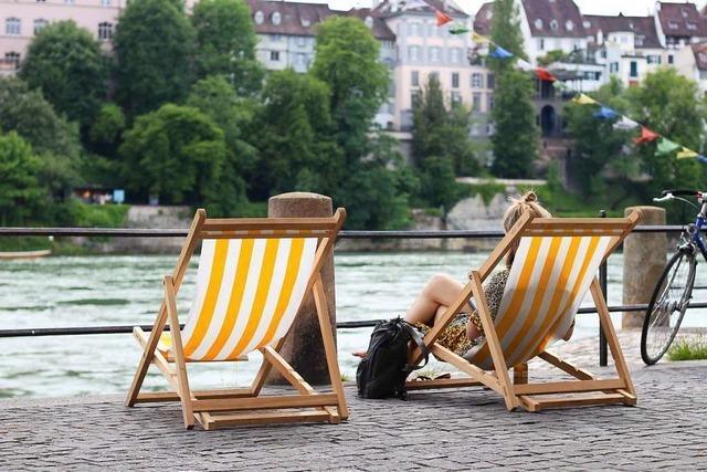 An Fronleichnam lohnt sich ein Ausflug ins sommerliche Basel