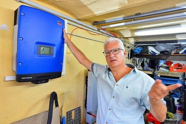 In einem Projekt wird erforscht, wie kleine private Stromspeicher vernetzt werden können
