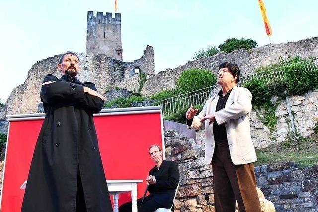 Auf der Lörracher Burg Rötteln beginnt am Freitag die Festspielzeit
