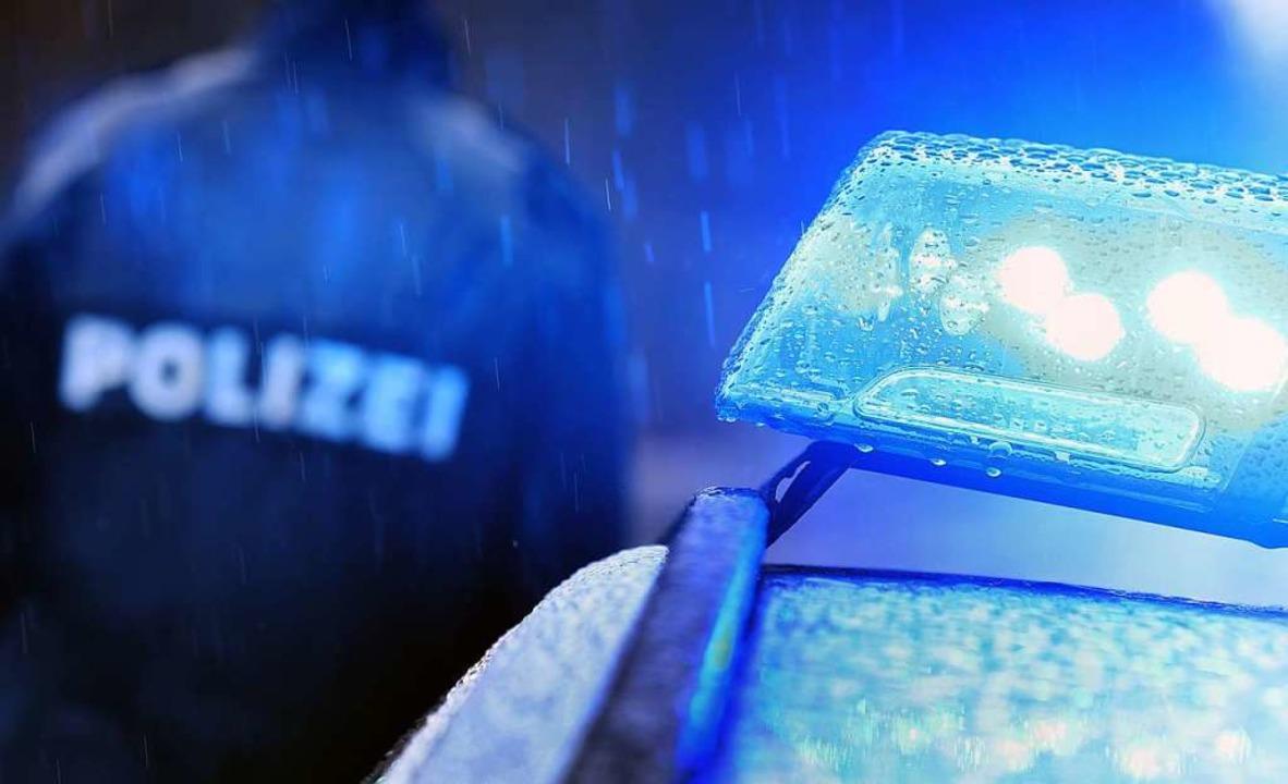 Erfolgreich war die Polizei bei der Fa...gen nach einer Straftat in Schliengen.  | Foto: Karl-Josef Hildenbrand