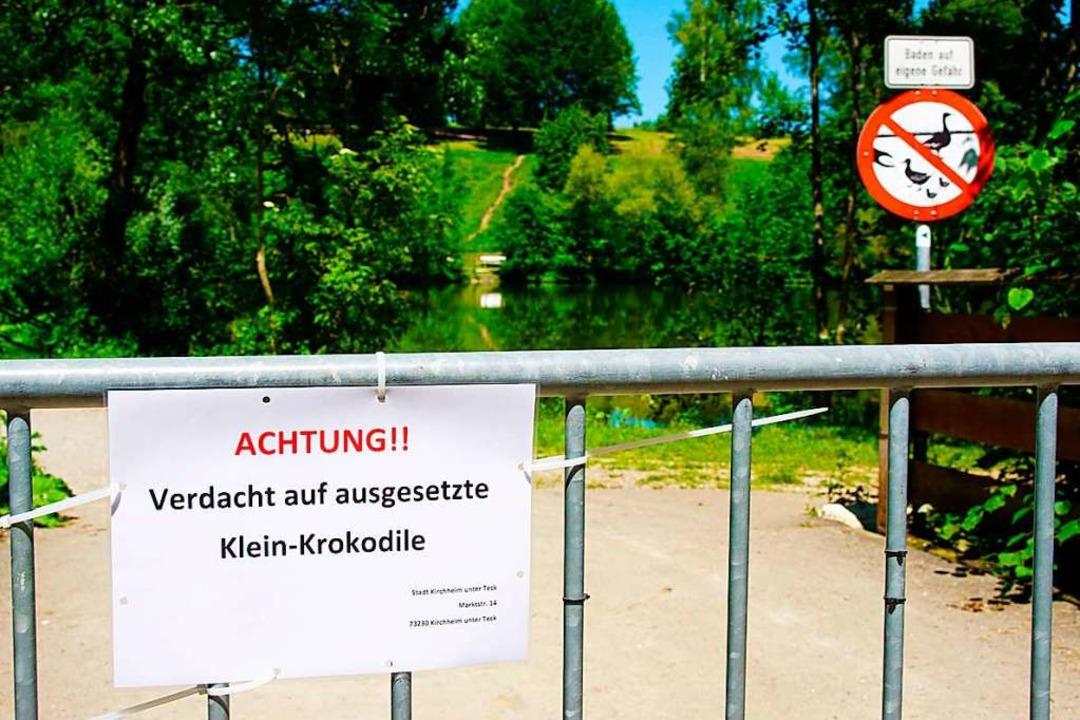 «Achtung!! Verdacht auf ausgesetzte Kl...een aus Sicherheitsgründen abgesperrt.  | Foto: SDMG , Krytzner (dpa)